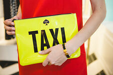 Kate Spade Taxi Pouch Gia Clutch Far From The Tree Cosmetics Tech Devices YELLOW