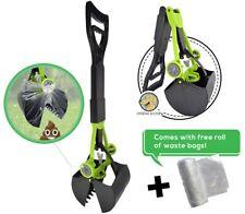 Hygena Scoop Jaw Pooper Scooper & Waste Bags for Dogs Cats Pets Poop Pickups