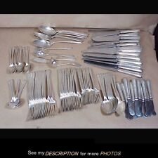 112 pc Towle Sterling Silver Lady Constance Pattern Flatware Set