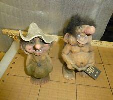 2 Nyform Troll Dolls Norway  124 w/tag