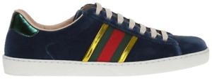 Mens Gucci 'Velvet Blue' shoes
