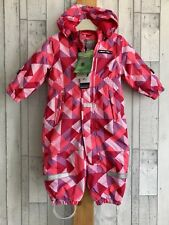 Lego Tec Baby Girls Snowsuit Winter Spring Time Age 9-12 Months Waterproof New