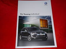 VW Touareg Individual prospectus de 2008
