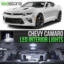 2010-2015 Chevrolet Camaro White LED Lights Interior Kit