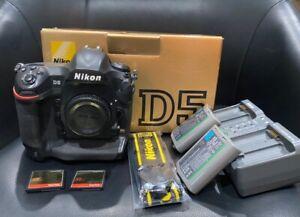 Nikon D5 Body (CF Version) + 2 Batteries + 2 32GB CF Cards