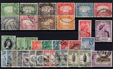 P130302/ BRITISH ADEN STAMPS / LOT 1937 – 1963 USED CV 228 $