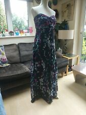 Teatro maxi dress size 16 NEW Maxi strapless evening