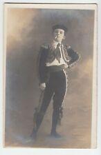 Junger Torero in Tracht evtl.corrida Espania pretty boy Photo Steiner Nancy~1915