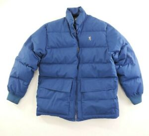 Vintage Browning Down Puffer Mens Jacket Coat sz L