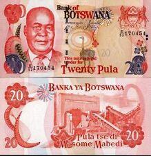 Botswana billet neuf de 20 pula pick 25 UNC