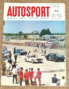 Autosport 3/6/66* MONACO GP - INDY 500 - ACROPOLIS RALLY - STEYR PUCH 650 TR2