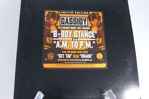 """Cassidy 12"""" Vinyl Record Double Album Rap Hip Hop B Boy Stance AM to PM"""
