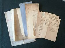 More details for 19th century northumberland agreements plans amble local board letters