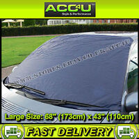Car 4x4 Van Front Windscreen LARGE Size Snow Frost Ice Screen Cover Protector