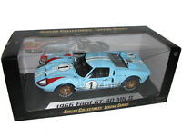 1966 Ford GT40 MK II Shelby Collectibles 1:18 Scale Blue Diecast Car NEW IN BOX