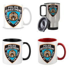 Police Department City Of New York themed 11/15/14 oz Coffee Mug/Cup.