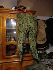 RARE AOR2 NWU WOODLAND PANT GORTEX Navy Seal X LARGE REG W/ NAVY ACE NEW W/ TAG