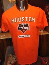 Houston Dynamo Adult Orange T-shirt offical Major Leauge Soccer multiple sizes
