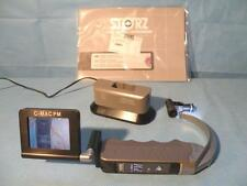 STORZ 8401XDK Pocket Monitor with C-MAC Pediatric Doerges Laryngoscope blade