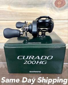 Shimano Curado 200HG K Baitcasting Reel, Right Hand, 7.4:1 - CU200HGK