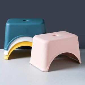 Living Room Children Plastic Stool Durable Non-slip Safe to Step and Sit Small
