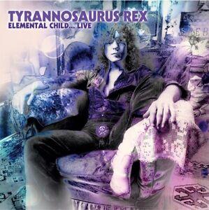 TYRANNOSAURUS REX ELEMENTAL CHILD LIVE 1970 COLOR VINYL 180-GR LP UK IMPORT