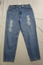 Levi's 550 Relaxed Fit Tapered Leg Womens Feathered Denim Jeans Measure 34x30