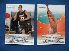2009 Prestige 2 R/C cards of Taylor Griffin cards #195&245 NBA Phoenix Suns