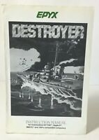 Vintage Commodore 64 Game Destroyer Instruction Manual