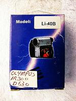 LI-42B LI-40B LI42B LI40B BATTERY FOR OLYMPUS FE-230 FE-240 CAMERA | NEW | USA |
