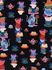 WONDERLAND RIFLE PAPER CO Cotton and Steel Fabric - 1 yard