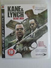 Kane & Lynch: Dead Men for Sony PlayStation 3 (complete)