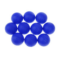 10Pcs Blue Soft PU Foam Golf Balls for Indoor Outdoor Training Practice