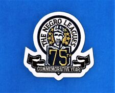 SEATTLE MARINERS 1995 THE NEGRO LEAGUES 75th COMMEMORATIVE YEAR JERSEY PATCH