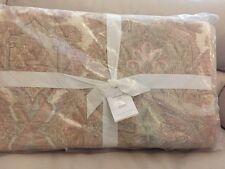 3pc NEW Pottery Barn Audrey Full/Queen Quilt Standard Shams Blush Pink