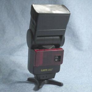 Canon Speedlite 299T Shoe Mount Flash non-TTL auto thyristor safe voltage, works