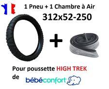 Lot PNEU + CHAMBRE à Air en 312x52-250 pour poussette HIGH TREK de Bébé confort
