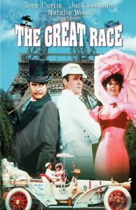 The Great Race Movie POSTER 11 x 17 Jack Lemmon, Tony Curtis, Natalie Wood, C