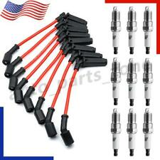 8pcs 9748rr Wires Amp 41 962 19299585 Spark Plugs For Chevy Gmc 48 53l 60l V8