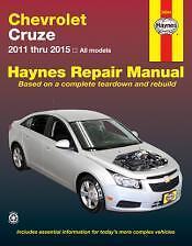 Chevrolet Cruze Haynes Repair Manual for 2011-2015 # 24044
