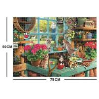 Cute Cats - Jigsaw Puzzle 1000 Piece Puzzles For Adults Kids Education O1P8