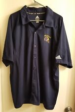 Adidas Men's ClimaLite Team Performance Collared Shirt Michigan Football Size Xl