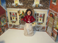 Byers Choice 1997 Victorian Woman Carrying Purse