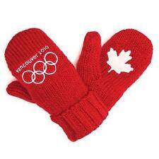 NEW OFFICIAL HBC 2010 CANADA OLYMPIC MITTENS YOUTH O/S
