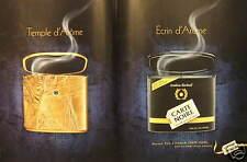 PUBLICITÉ CAFÉ ARABICA CARTE NOIRE TEMPLE D'ARÔME ÉCRIN D'ARÔME - ADVERTISING
