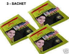 3 Sachet Godrej Kali Mehndi Black Henna Amla Shikakai