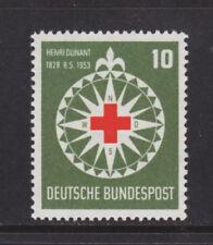 Germany Sc 696 MNH. 1953 10pf Red Cross cplt VF