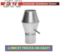 High Velocity Jet Roof Cowl - Hydroponics, Ventilation, Extractor fan