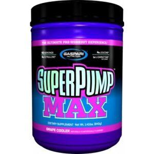 Gaspari Nutrition Superpump Max Pre- 640g Skin splitting Pumps,Focus & Energy