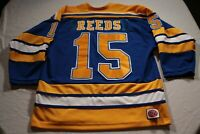Mark Reeds St. Louis Blues Alumni Game Used Jersey Autographed Puck Hockey Auto